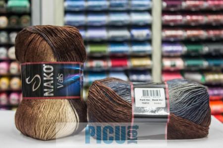 Poze Fir de tricotat sau crosetat - Fire tip mohair din acril premium Nako VALS DEGRADE 86462