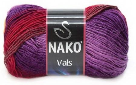 Poze Fir de tricotat sau crosetat - Fire tip mohair din acril premium Nako VALS DEGRADE 86460