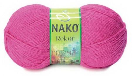 Poze Fir de tricotat sau crosetat - Fire tip mohair din acril premium Nako REKOR ROZ 10121