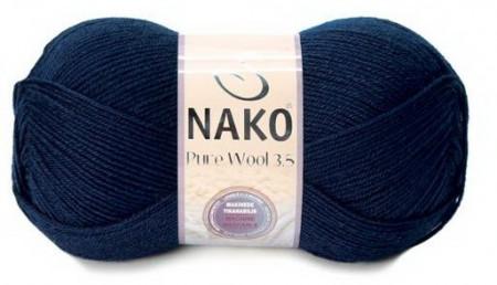 Poze Fir de tricotat sau crosetat - Fire tip mohair din lana 100% Nako PURE WOOL 3,5 BLEOMAREN 2418