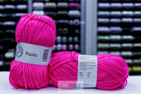Poze Fir de tricotat sau crosetat - PAULA UNI by GRUNDL ROZ - 14 (FLUO)