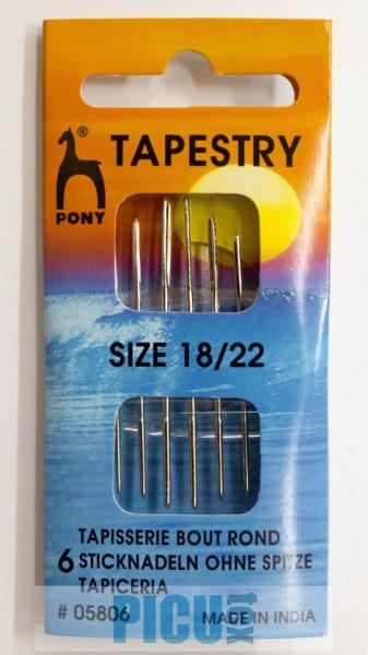 Poze Set ace inox PONY TAPESTRY 5806