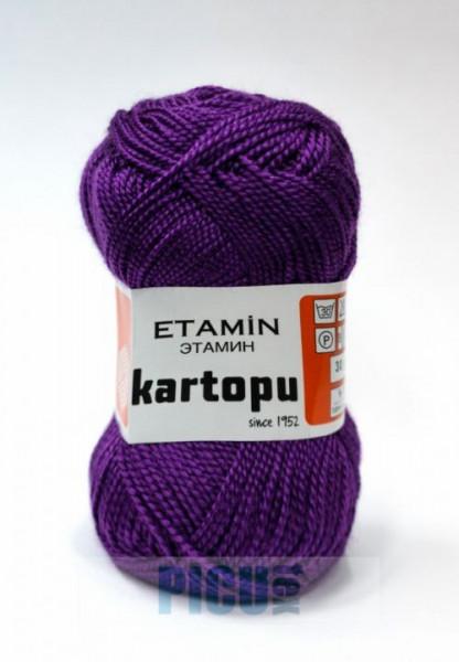 Poze Fir de tricotat,brodat sau crosetat - Fir KARTOPU ETAMIN MOV - 721
