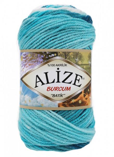 Poze Fir de tricotat sau crosetat - Fir ACRILIC ALIZE BURCUM BATIK DEGRADE 1892