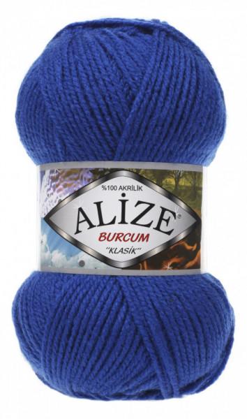Poze Fir de tricotat sau crosetat - Fir ACRILIC ALIZE BURCUM KLASIK ALBASTRU 141