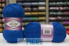Poze Fir de tricotat sau crosetat - Fir ALIZE COTTON GOLD ALBASTRU 141