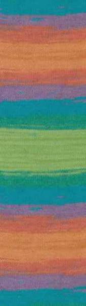Poze Fir de tricotat sau crosetat - Fir ALIZE COTTON GOLD BATIK - DEGRADE 4530