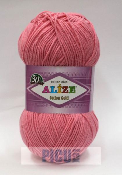 Poze Fir de tricotat sau crosetat - Fir ALIZE COTTON GOLD ROZ 33