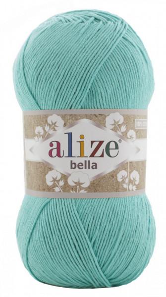 Poze Fir de tricotat sau crosetat - Fir BUMBAC 100% ALIZE BELLA 100 - VERNIL 477