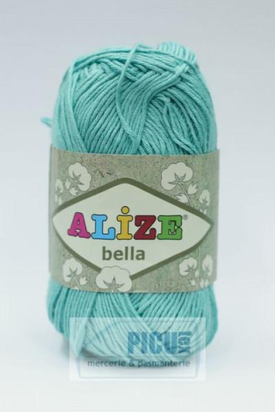 Poze Fir de tricotat sau crosetat - Fir BUMBAC 100% ALIZE BELLA - VERNIL 477