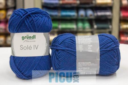 Poze Fir de tricotat sau crosetat - Fir GRUNDL - SOLE - ALBASTRU 49