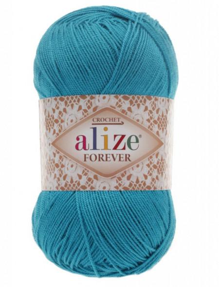 Poze Fir de tricotat sau crosetat - Fir microfibra ALIZE FOREVER BLEO 16