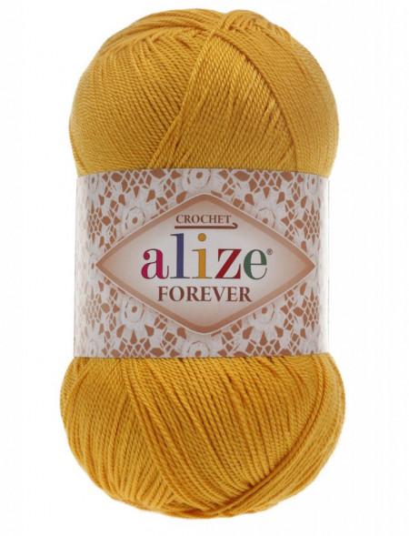 Poze Fir de tricotat sau crosetat - Fir microfibra ALIZE FOREVER GALBEN 488