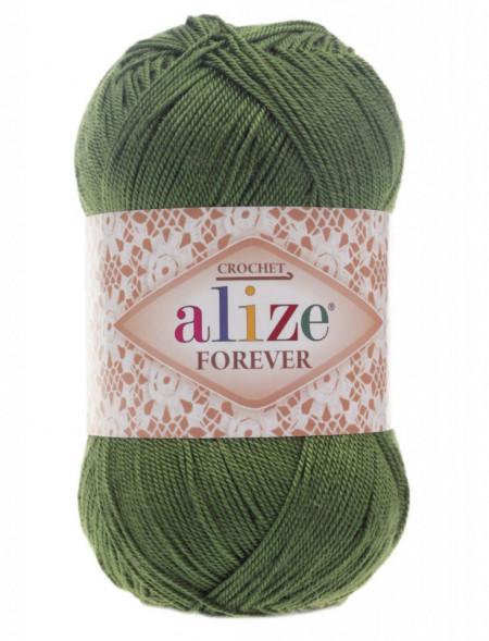 Poze Fir de tricotat sau crosetat - Fir microfibra ALIZE FOREVER VERDE 35