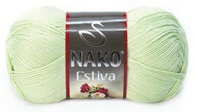 Poze Fir de tricotat sau crosetat - Fire amestec Bumbac + Bambus NAKO ESTIVA VERNIL 6707