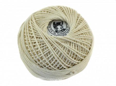 Poze Fir de tricotat sau crosetat - Fire Bumbac 100% ANGELICA ROMANOFIR BOBINA CREAM 1203