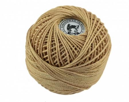 Poze Fir de tricotat sau crosetat - Fire Bumbac 100% ANGELICA ROMANOFIR BOBINA BEJ 6P