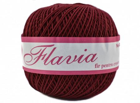 Poze Fir de tricotat sau crosetat - Fire Bumbac 100% FLAVIA ROMANOFIR BOBINA MARO 1300