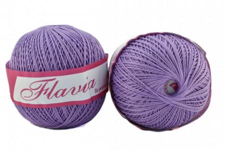 Poze Fir de tricotat sau crosetat - Fire Bumbac 100% FLAVIA ROMANOFIR BOBINA MOV 1224