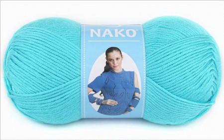 Poze Fir de tricotat sau crosetat - Fire Nako SATEN TURCOAZ 3323