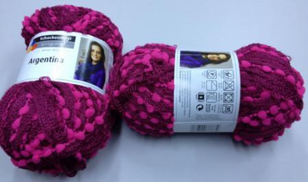 Poze Fir de tricotat sau crosetat - Fire pretricotate esarfa Argentina A81