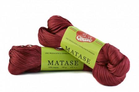 Poze Fir de tricotat sau crosetat - Fire tip matase din vascoza Canguro - GRENA -315 -