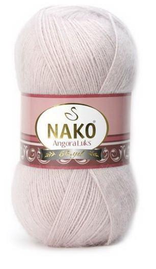 Poze Fir de tricotat sau crosetat - Fire tip mohair acril NAKO ANGORA LUKS ROZ 318