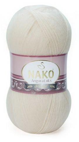 Poze Fir de tricotat sau crosetat - Fire tip mohair acril NAKO ANGORA LUKS CREAM 6890