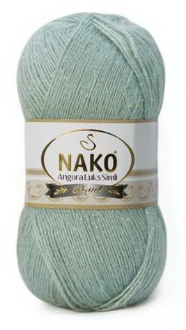 Poze Fir de tricotat sau crosetat - Fire tip mohair acril NAKO ANGORA LUKS SIMLI COD 10023