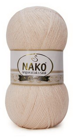 Poze Fir de tricotat sau crosetat - Fire tip mohair acril NAKO ANGORA LUKS SIMLI COD 11499
