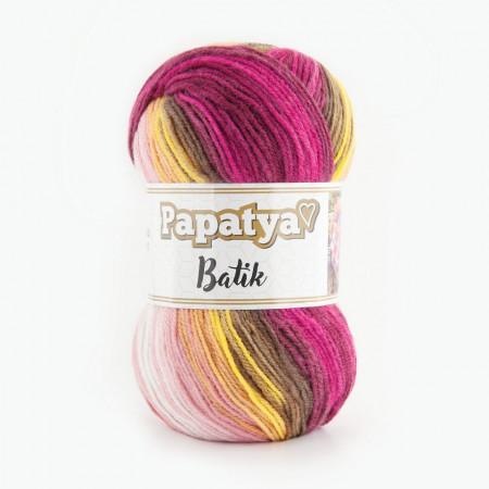 Poze Fir de tricotat sau crosetat - Fire tip mohair din acril Kamgarn Papatya Batik degrade 32