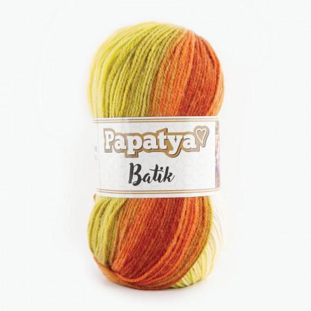 Poze Fir de tricotat sau crosetat - Fire tip mohair din acril Kamgarn Papatya Batik degrade 16