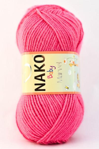 Poze Fir de tricotat sau crosetat - Fire tip mohair din acril Nako Baby MARVEL ROZ 6737