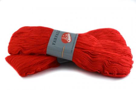 Poze Fir de tricotat sau crosetat - Fire tip mohair din acril (PNA) Canguro Farfalle ROSU 310