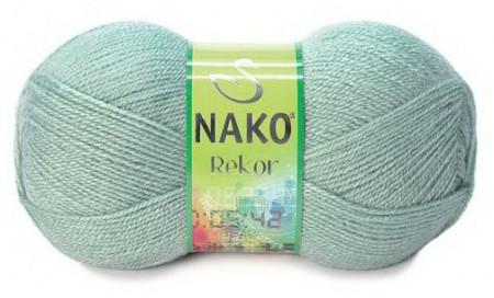 Poze Fir de tricotat sau crosetat - Fire tip mohair din acril premium Nako REKOR GRI 292