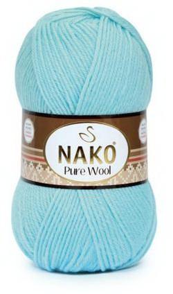 Poze Fir de tricotat sau crosetat - Fire tip mohair din lana 100% Nako PURE WOOL BLEO 10482