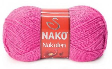 Poze Fir de tricotat sau crosetat - Fire tip mohair din lana 50% si acril 50% Nakolen ROZ 3658