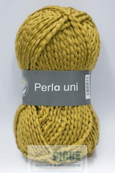 Poze Fir de tricotat sau crosetat - PERLA UNI by GRUNDL GALBEN 41