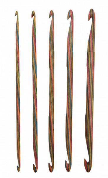 Poze KnitPro SYMFONIE WOOD - set crosete cu capat dublu