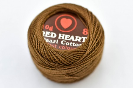 Poze Cotton perle RED HEART cod 0358