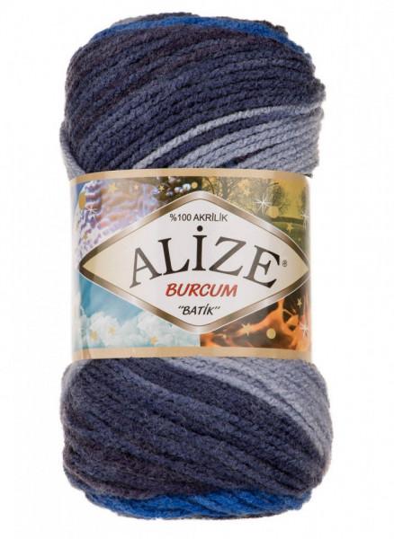 Poze Fir de tricotat sau crosetat - Fir ACRILIC ALIZE BURCUM BATIK DEGRADE 4761