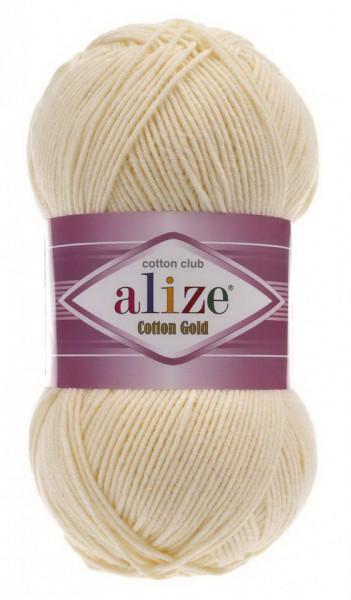 Poze Fir de tricotat sau crosetat - Fir ALIZE COTTON GOLD CREAM 458