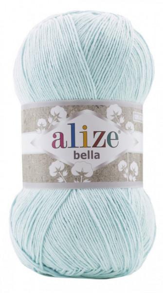 Poze Fir de tricotat sau crosetat - Fir BUMBAC 100% ALIZE BELLA 100 - BLEO 514