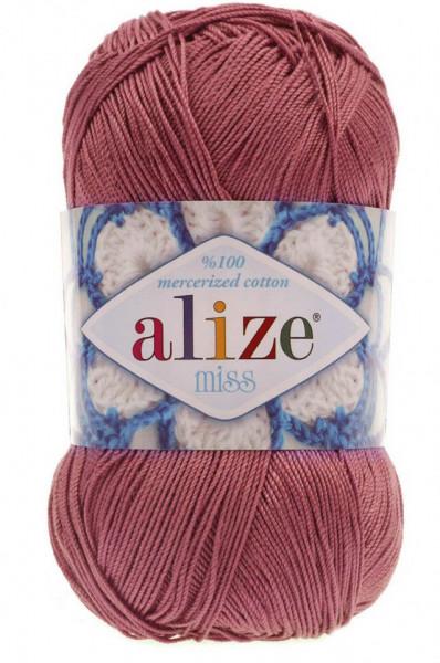 Poze Fir de tricotat sau crosetat - Fir BUMBAC 100% ALIZE MISS ROZ 468