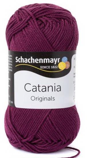 Poze Fir de tricotat sau crosetat - Fir BUMBAC 100% MERCERIZAT CATANIA BURGUND 394