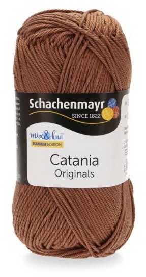 Poze Fir de tricotat sau crosetat - Fir BUMBAC 100% MERCERIZAT CATANIA DEEP AMBER 438
