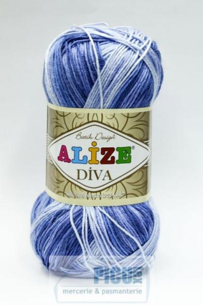 Poze Fir de tricotat sau crosetat - Fir microfibra ALIZE DIVA BATIK DEGRADE 3282