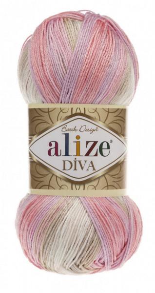 Poze Fir de tricotat sau crosetat - Fir microfibra ALIZE DIVA BATIK DEGRADE 2807