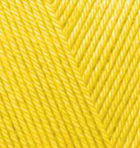 Poze Fir de tricotat sau crosetat - Fir microfibra ALIZE DIVA GALBEN 110