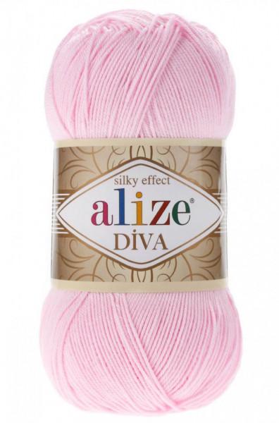 Poze Fir de tricotat sau crosetat - Fir microfibra ALIZE DIVA ROZ 185